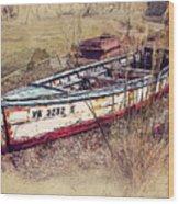 Rowboat Modified Wood Print