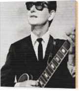 Roy Orbison, Legend Wood Print