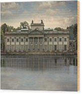 Royal Baths In Warsaw Wood Print