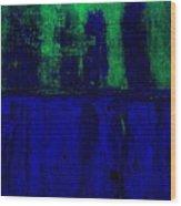 Royal Blue Wood Print by Marsha Heiken