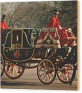 Royal Carriage Wood Print