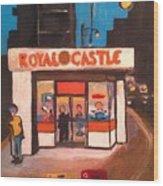 Royal Castle Wood Print