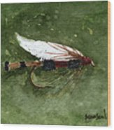 Royal Coachman Wet Fly Wood Print