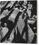 Royal Deadwood Striped Wood Print