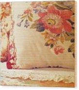 Royal English Chintz  Wood Print