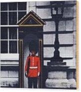 Royal Guard Wood Print