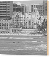 Royal Hawaiian Hotel - Waikiki Wood Print
