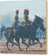 Royal Horse Artillery Painted Wood Print