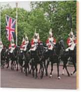 Royal Household Cavalry Wood Print