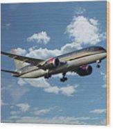 Royal Jordanian 787 Jy-baf Wood Print