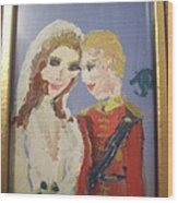 Royal Kiss Wood Print
