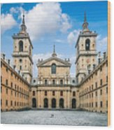 Royal Monastery El Escorial Wood Print