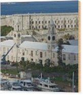 Royal Naval Dockyard Bermuda Wood Print