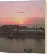 Royal Navy Port Bermuda Wood Print