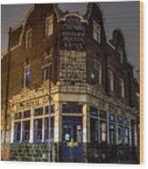 Royal Oak Pub Columbia Road London Wood Print