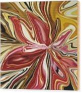 Royal Orchid Wood Print