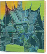 Royal Palace Bangkok Wood Print