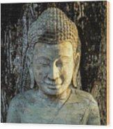 Royal Palace Buddha 02  Wood Print
