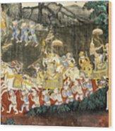 Royal Palace Ramayana 11 Wood Print