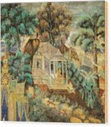 Royal Palace Ramayana 12 Wood Print