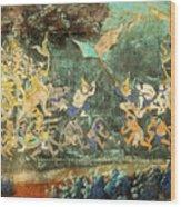 Royal Palace Ramayana 14 Wood Print