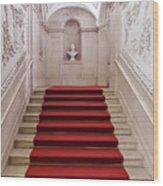 Royal Palace Staircase Wood Print