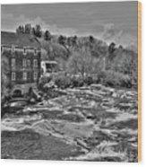Royal River 0156 Wood Print