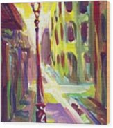 Royal Street New Orleans Wood Print