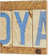 Royal Street - Nola Wood Print