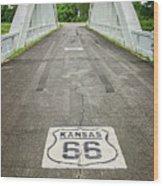 Rt. 66 Rainbow Bridge Wood Print