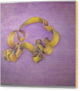 Rubberband Number Two Wood Print