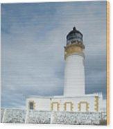 Rubha Reidh Lighthouse Wood Print