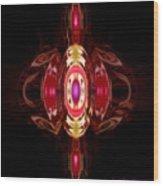 Ruby-- Gem Series Wood Print
