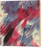 Ruby Velvet Wood Print
