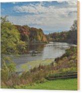 Ruddiman Pond Wood Print