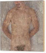 Rudy G. 2-1 Wood Print