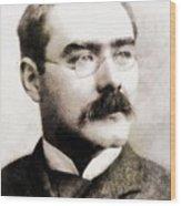 Rudyard Kipling, Literary Legend Wood Print