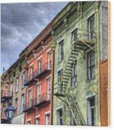 Rue Bienville Wood Print