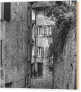 Rue Des Moulins Wood Print