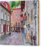 Rue Du Cul De Sac Wood Print