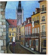 Rue Lamonnoye In Dijon France Wood Print