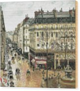 Rue Saint Honore Wood Print