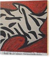 Rug Wood Print