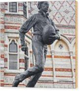 Rugby's Founder William Webb Ellis Wood Print