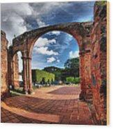 Ruinas En Altagracia Wood Print