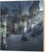 Ruins Of Abbey Wood Print