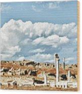 Ruins Of Delos Wood Print