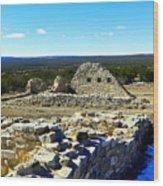 Ruins Of Gran Quivira  Wood Print
