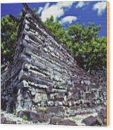 Ruins Of Nan Madol Wood Print