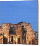 Ruins Of San Nicolas De Bari Hospital Wood Print